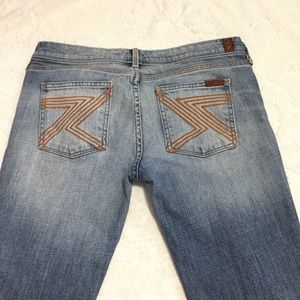 7 for all mankind bootcut jeans size 30 authentic